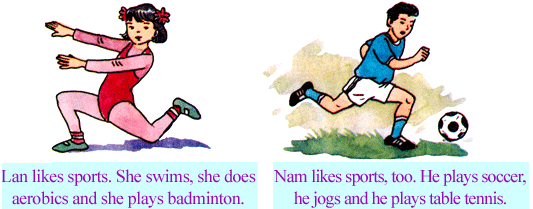 giai bai tap tieng anh 6 unit 12 sports and pastimes 2 - Giải bài tập Tiếng Anh 6 Unit 12: Sports and Pastimes